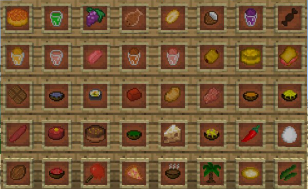 [1.6.4] Lots of Food Mod Download