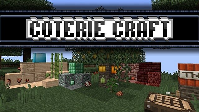 [1.7.4/1.6.4] [16x] Coterie Craft Texture Pack Download