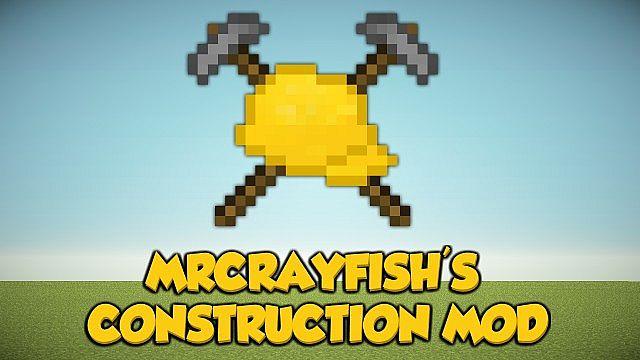 [1.6.4] MrCrayfish's Construction Mod Download