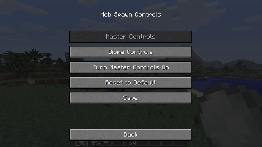 [1.6.4] Mob Spawn Controls Mod Download