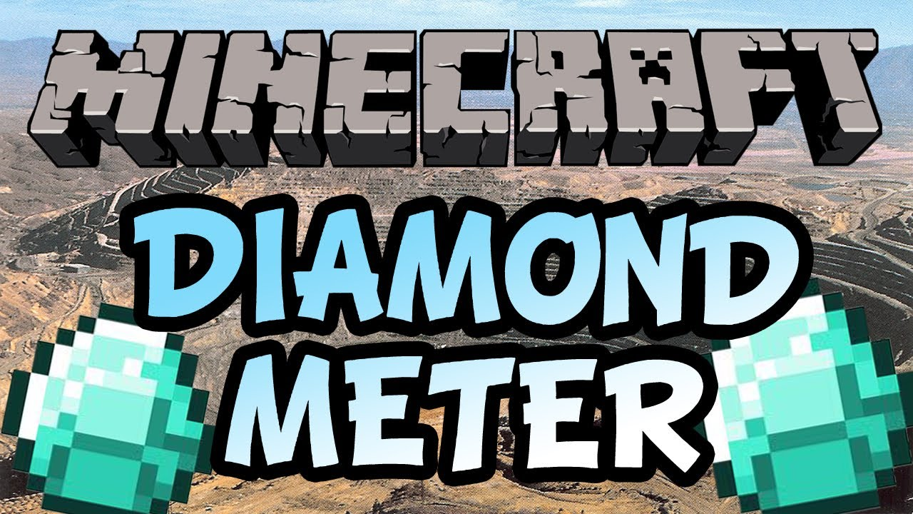 [1.6.4] Diamond Meter Mod Download