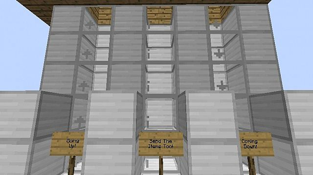 [1.6.4] Elevator Mod Download