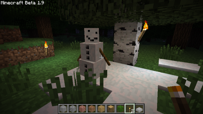 [1.6.4] Pumpkin-less Snow Golem Mod Download