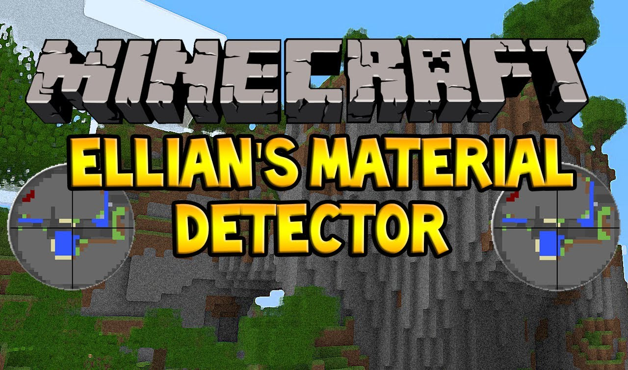 [1.6.4] Material Detector Mod Download