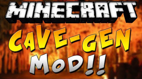 [1.7.4] Cave Generation Mod Download