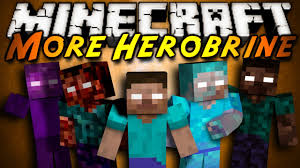 [1.6.2] More Herobrines Mod Download
